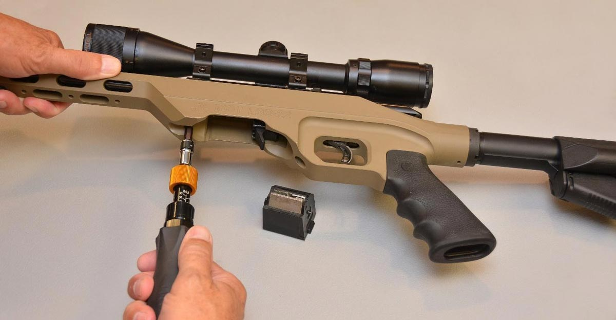 TUNING A RIMFIRE RIFLE WITH A TORQUE WRENCH