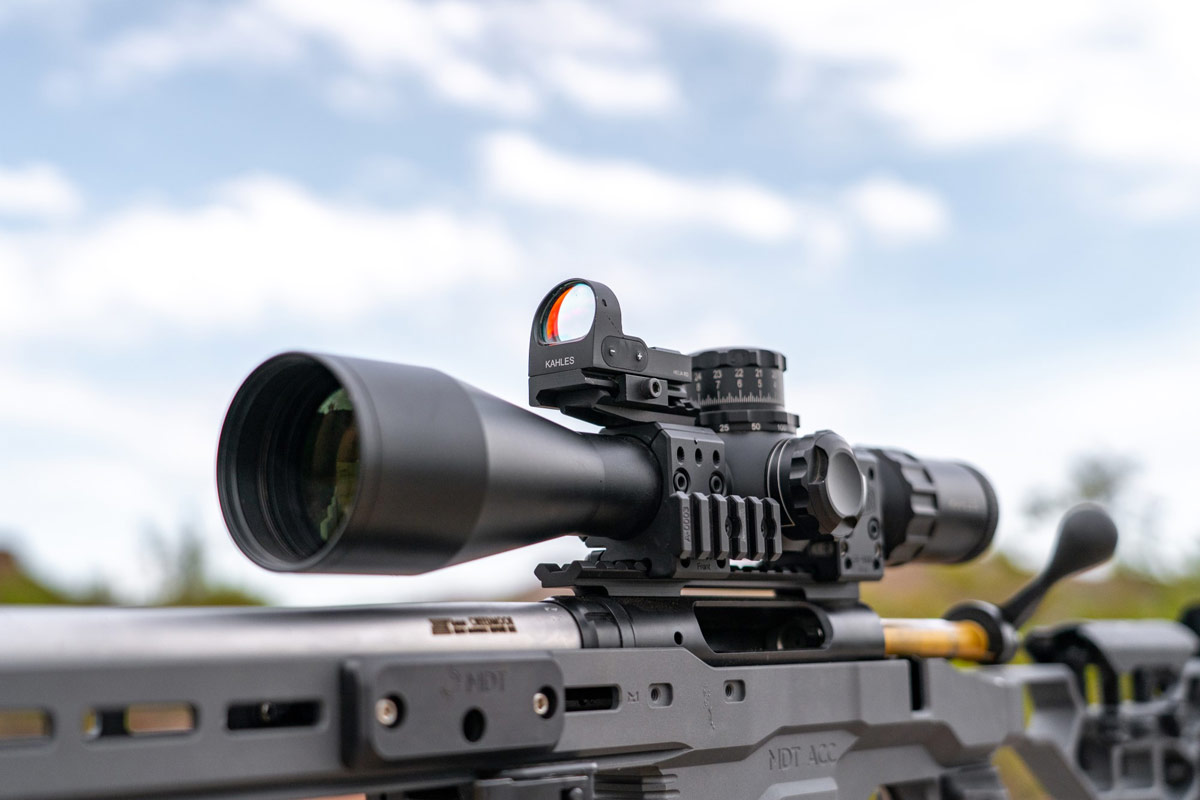 Red dots on Precision Rifles