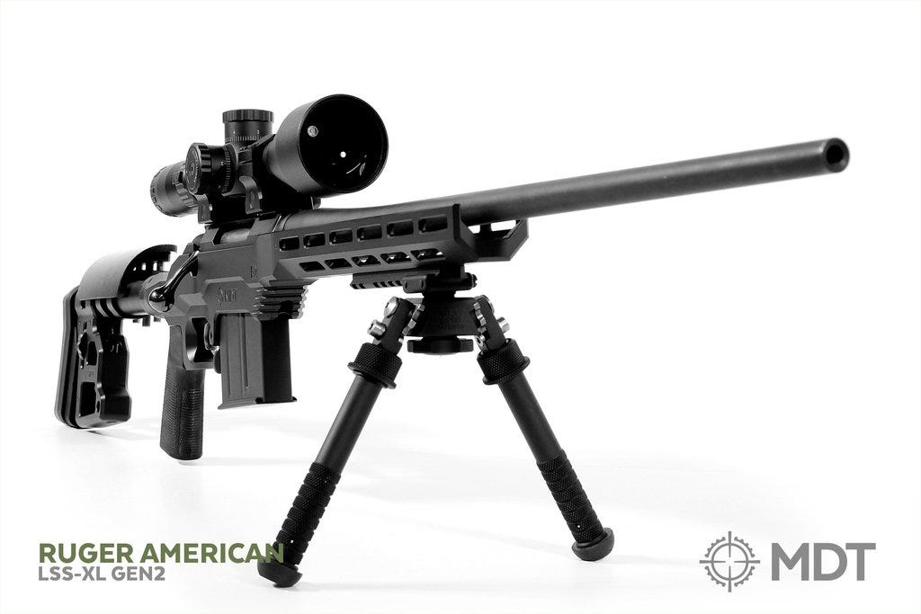 MDT RELEASES LSS-XL GEN2 CHASSIS SYSTEM FOR RUGER AMERICAN SA